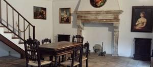 ラファエッロの生家の内部