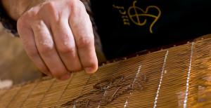 フィリグラーナと呼ばれる紙漉きの木枠